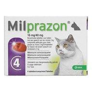 Milprazon Ontwormingsmiddel Kat 16mg