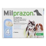 Milprazon Entwurmungsmittel Hund 2,5mg