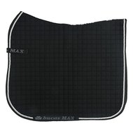 Bucas Max Saddle Pad Dress Black/Silver