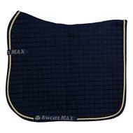 Bucas Saddle Pad Max Dressur Navy/Gold