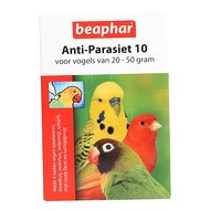 Beaphar Anti Parasiet 10 vogel 2 pipetten