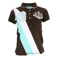 HV Polo Polo Shirt Kalis Dames Dark Brown XS