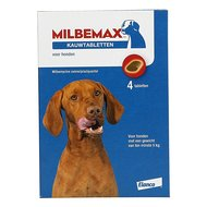 Milbemax Chewing Tablet Tasty Big Dog 4 Tablets 4 Pcs