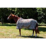 Harrys Horse Vliegendeken Plume Singels Zebra