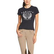 Ariat Logo Tee Ladies NAVY XS
