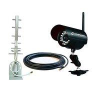 Luda Kamerakit (Kabel, Adapter und Antenne) für Cowcam