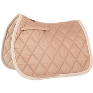 BR Saddlepad General Purpose Event Cotton with Luxury Tan