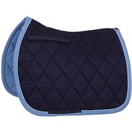 BR Saddlepad General Purpose Event Cotton with Luxury Navy
