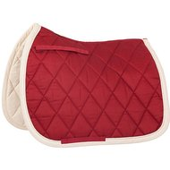 BR Saddlepad General Purpose Event Cotton with Luxury Maple Red