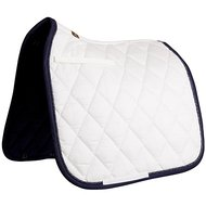 BR Saddlepad Dressage Event Luxe 400g Nautical White Full
