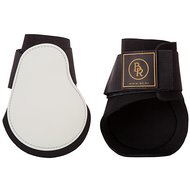 BR Fetlock Boots Event PU with Neoprene Lining White