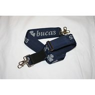Bucas Internal Surcingle set Navy/Silver