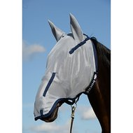 Bucas Buzz-Off Full Face Fly Mask Blue