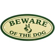 "Esschert Warnschild ""Beware Of The Dog"""