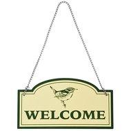 Esschert Welcome Schild