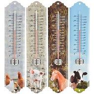 Esschert Thermometer Farmtiere Assorti