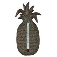 Esschert Ananas thermometer 9,7x1,8x20,1cm