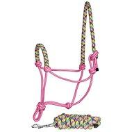 Harrys Horse Touwhalsterset Rainbow Roze