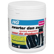 HG Zwarter dan Zwart Wasmiddel