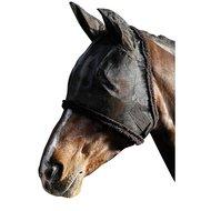 Harrys Horse Vliegenmasker met Oren Zwart