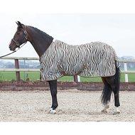 HH Fliegendecke Mesh Stdmassig Gurten Zebra Plume
