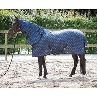 Harrys Horse Flysheet with Neck Blue Nights