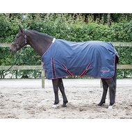 Harrys Horse Regendeken Thor 0gr fleece lining Blue N