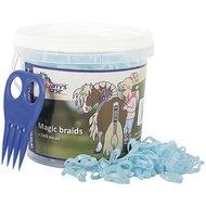 Harrys Horse Petits Élastiques Magic Braids Pot Bleu clair