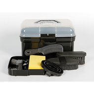 Harrys Horse Grooming Box Complete Black