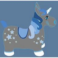 Harrys Horse Unicorn Grijs