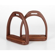 Harrys Horse Stirrups Compositi Profile Brown