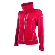 HKM Pro Team Fleece Jacket Kufstein Dark Red