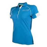 HKM PRO TEAM Poloshirt Neon Sports Azuurblauw