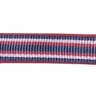 HKM Halster Zurich Zacht Onderlegd donkerblauw/rood