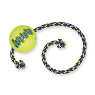 Kong Air Squeaker Tennis Ball m/touw Medium