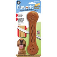 Pet Qwerks Flavorit Nylon Peanut Butter Bone