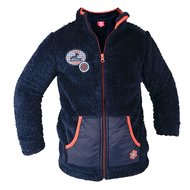 Red Horse Fluffy Vest Blauw