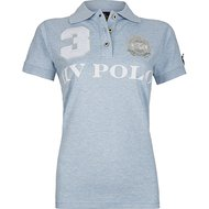 HV Polo Poloshirt Favouritas EQ SS Cloud Melange
