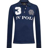 HV Polo Polo Favouritas EQ LS Denim Melange