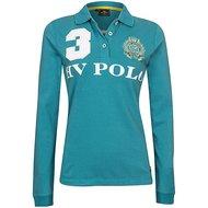 HV Polo Poloshirt Favouritas EQ LS Lago Blue