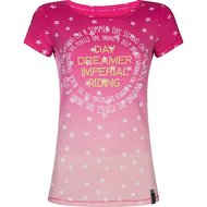 Imperial Riding T-shirt Silverstar Fuchsia