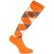 HV Polo Sokken argyle Favouritas LTE Neon Orange