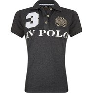 HV Polo Polo Favouritas EQ SS Grey Melange