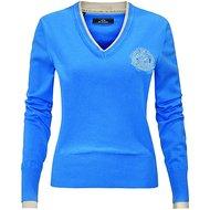 HV Polo V Neck Favouritas Fashion Capri Blue