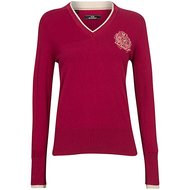 HV Polo V Neck Favouritas Fashion Roja