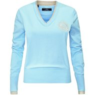 HV Polo V Neck Favouritas Fashion Soft Blue