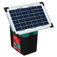 Ako Solarmodulkit incl. Halter + 12 Volt 12AH Gelbatterie 8W
