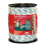 Ako Koord Premiumline Wit/groen 200mtr