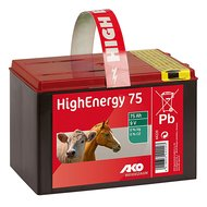 Ako High Energy Saline Trockenbatterie 9V 75Ah