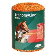 Ako Draad Economyline Geel/oranje 500mtr.